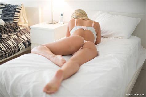 Tahlia Paris Skimpy Pink Naked Blonde Girls