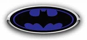 Ford Batman Emblem Decals  Darkside Racing Art Ford Overlay Logo Custom Emblem Decals