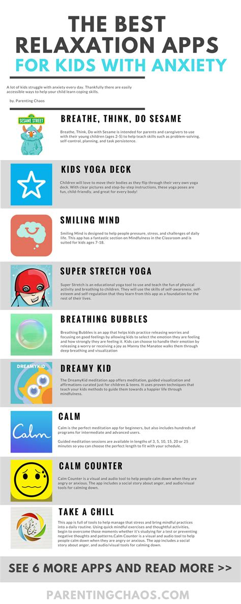 mindfulness  relaxation apps  kids  anxiety