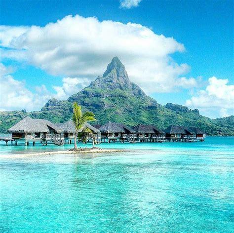Bora Bora French Polynesia Bora Bora Is A Small South