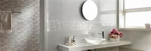 les carrelages de salle de bains With carrelage rectangulaire salle de bain