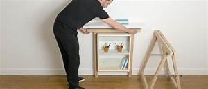 Tréteaux Pour Table : pierre lota le site pour faire ses meubles objets design ~ Melissatoandfro.com Idées de Décoration