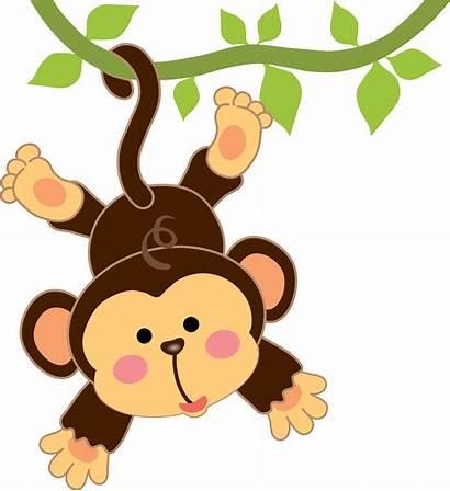 Monkey Clipart Nursery Transparent Minus Animals Webstockreview