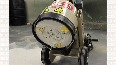 Magna Trap® Single Disc Floor Grinder   EDCO