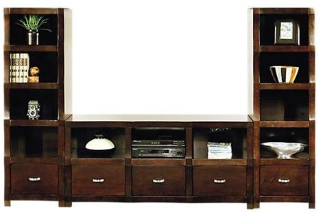 picture of eldon square white 4 pc wall unit from wall units 34 best images about entertainment center on