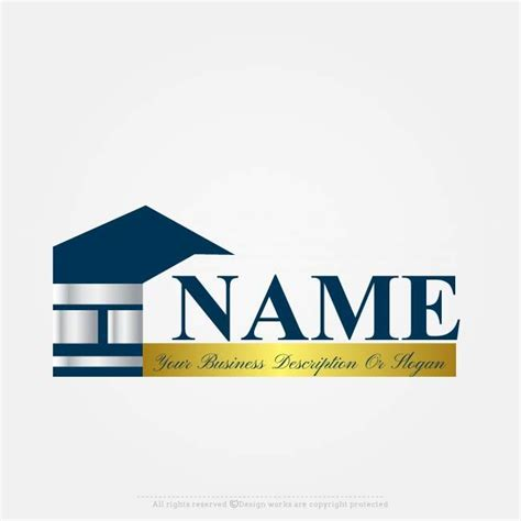 house logo design  sale   ready  house