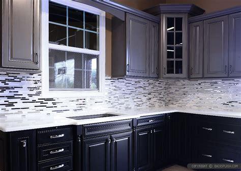 5 Modern White Marble Glass Metal Kitchen Backsplash Tile