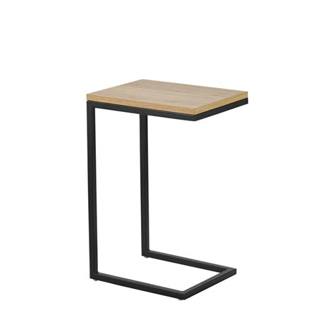 bout de canape design bout de canapé bois et métal temmelig drawer