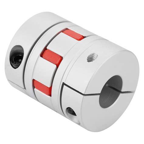 tebru flexible spider shaft coupling odmm  lmm cnc stepper motor coupler connector mm