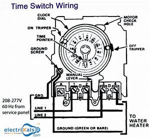 Wiring Diagram Of An Water Heater With Time Switch  U202a  U200eelectrikals U202c  U202a  U200eonlineshopping U202c