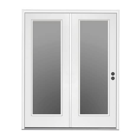 shop reliabilt 71 5 in 1 lite glass steel center hinged