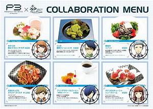 Persona X Pasela Resorts Collaboration Cafe for Persona 3 ...