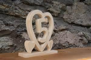 5 ans de mariage coeur noce de bois 5 ans de mariage