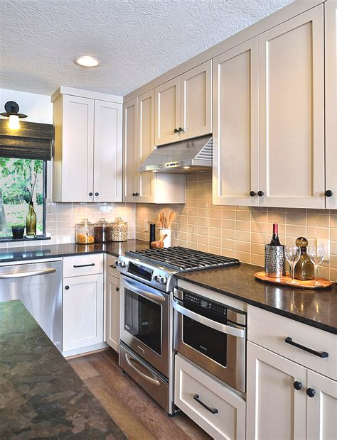 semi gloss paint for kitchen cabinets before after a dated house gets a contemporary revival 9278