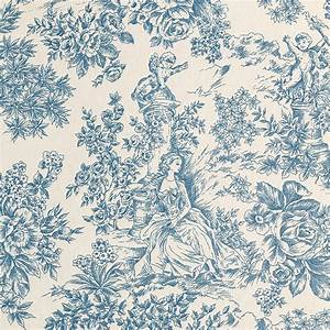 Toile De Jouy : mantel toile de jouy azul ~ Teatrodelosmanantiales.com Idées de Décoration
