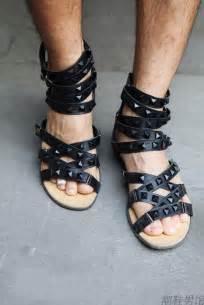 Men's Roman Sandals Leather