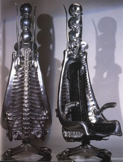 Giger Harkonnen Capo Chair by H R Giger Chair Favorite Pieces