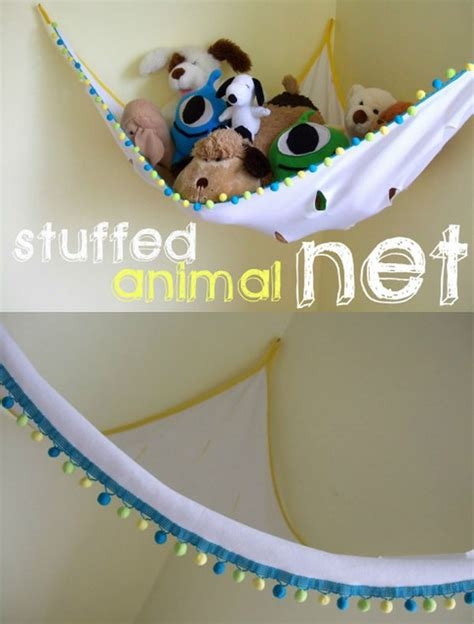 clever creative ways  organize kids stuffed toys
