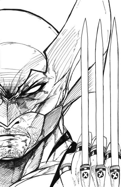 Wolverine Sketch Cover Inks By Jamietyndall On Deviantart