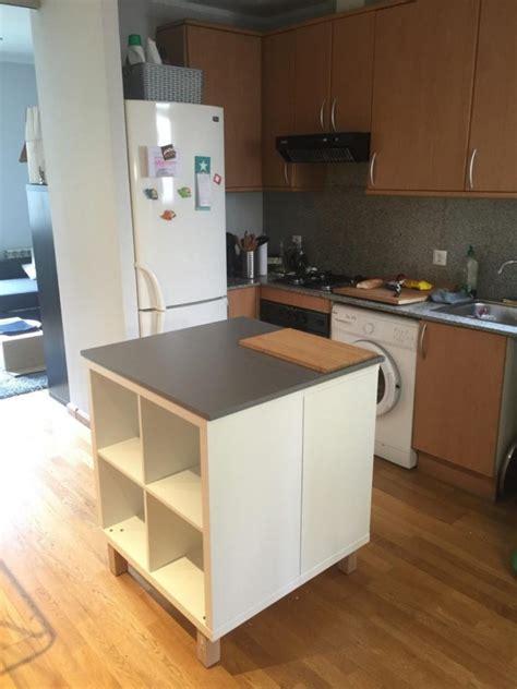 meuble de cuisine ilot central un nouvel ilot central cuisine avec kallax