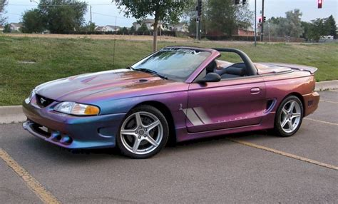 Extreme Rainbow Purple 1997 Saleen S281 Cobra Ford Mustang