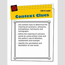 5th Context Clues