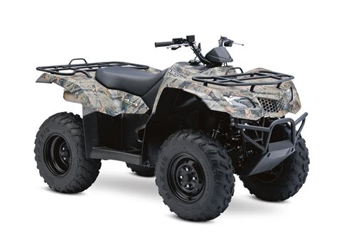 Suzuki Kingquad by 2012 Suzuki Kingquad 400fsi Camo Top Speed