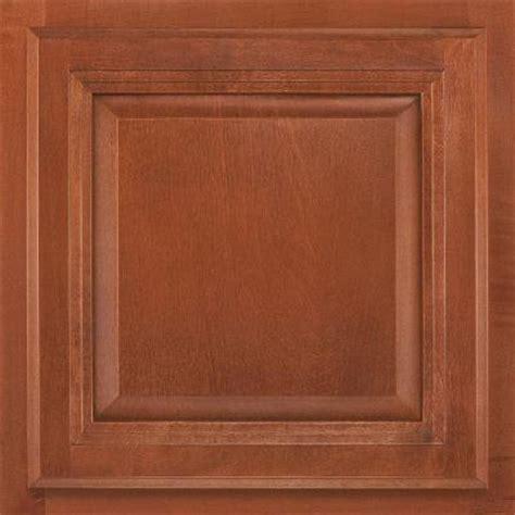 home depot cognac cabinets american woodmark 13x12 7 8 in cabinet door sle in