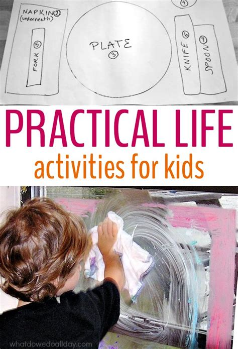 practical life activities  kids