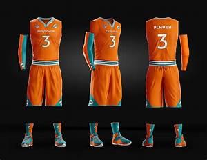Basketball Uniform Jersey Psd Template On Wacom Gallery