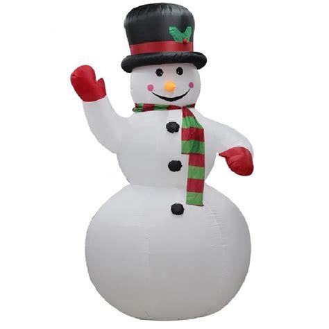 weihnachtsdeko fenster elektrisch elektrisch selbst aufblasende schneemann gro 223 au 223 en