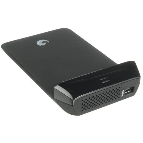 seagate goflex desk thunderbolt adapter seagate goflex thunderbolt adapter stae121 b h photo