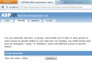 simple forms authentication exle using asp net configuration tool programmingfree
