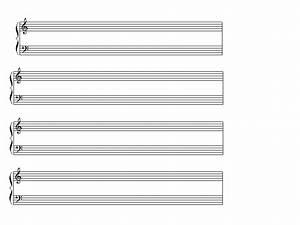 Blank Piano Music