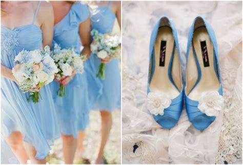 baby blue wedding ideas blue bridesmaid dresses