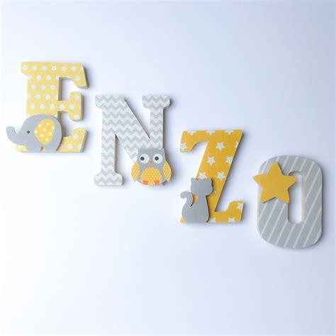 lettre pour chambre de bebe les 25 meilleures idées de la catégorie lettres en bois