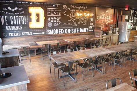 barbecue cuisine dickey s barbecue restaurants inc debuts redesigned