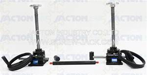 Hand Crank Mechanical Jack Lift System Manual Operated