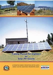 Pdf  Training Manual For Engineers On Solar Pv System