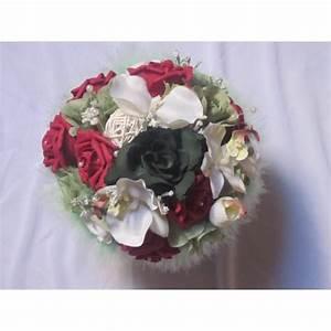 Bouquet De La Mariée : bouquet de mari e rond bordeaux vert avec des roses et ~ Melissatoandfro.com Idées de Décoration