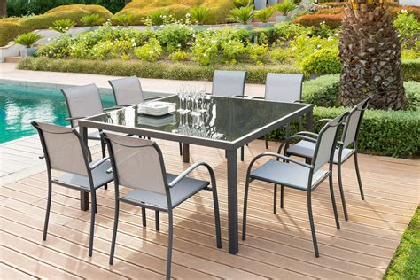 table carr 233 e piazza verre anthracite graphite hesp 233 ride 8 places