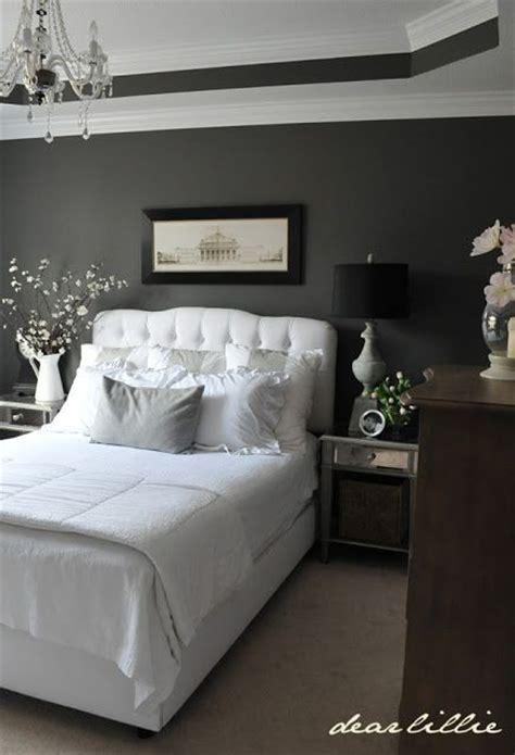 22 Charcoal Grey Bedrooms Messagenote