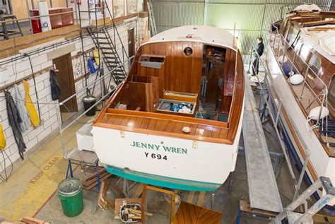 Wooden Boat Hull Repair by Boat Restoration Norfolk Broom Marine Services