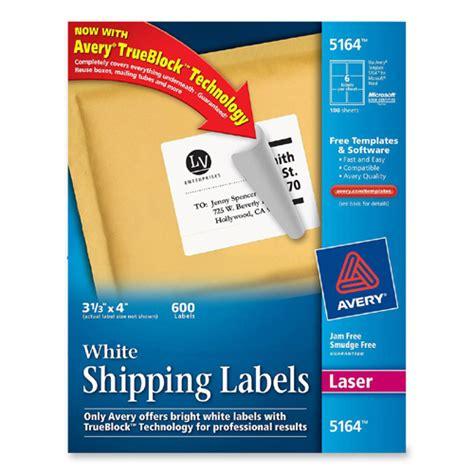 avery label templates 5164 printer