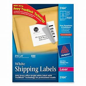 avery labels 5164 template With 5164 shipping labels