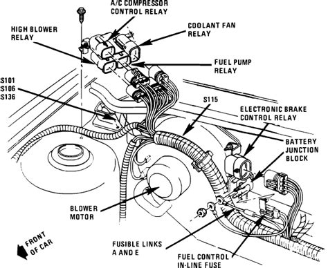 cooling fan relay location