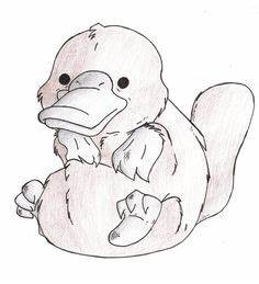 Platypus coloring pages | Coloring Pages | Pinterest ...