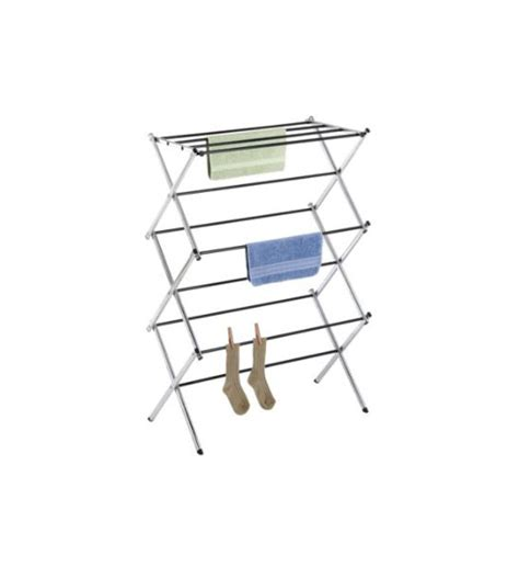 folding drying rack chrome folding drying rack in laundry drying racks