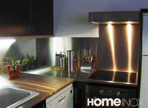 inox autocollant pour cuisine plaque inox pour plan de travail plan de travail cuisine