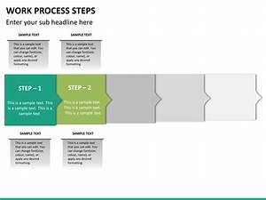 Work Process Steps Powerpoint Template